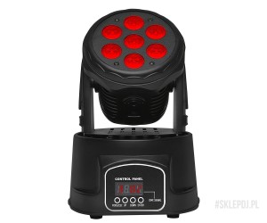 Fractal Lights MINI LED MOVING HEAD 7 x 10 W