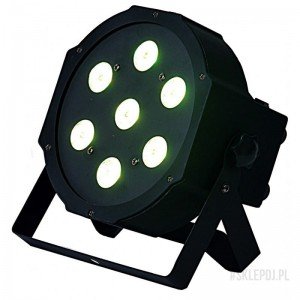 LIGHT4ME FLAT QUAD PAR 7x8W RGBW LED slim