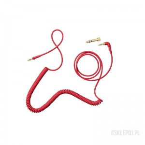 AIAIAI TMA-2 C10 kabel spiralny w/adapter 1,5m/4mm RED