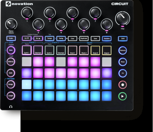Novation Circuit | WSDJ Studio